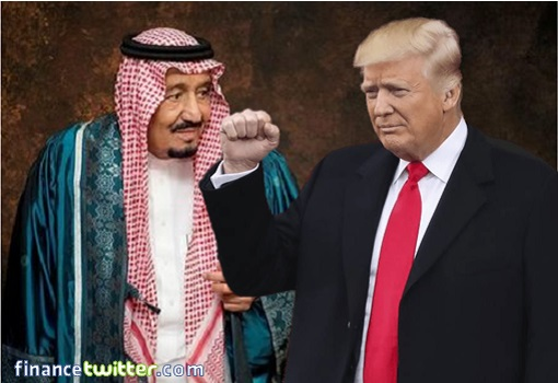 Saudi Arabia King Salman and US President Donald Trump