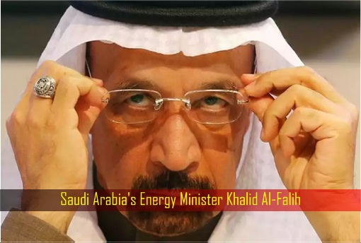's Energy Minister Khalid Al-Falih