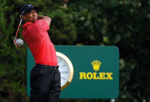 Tiger Woods - Sponsor Rolex