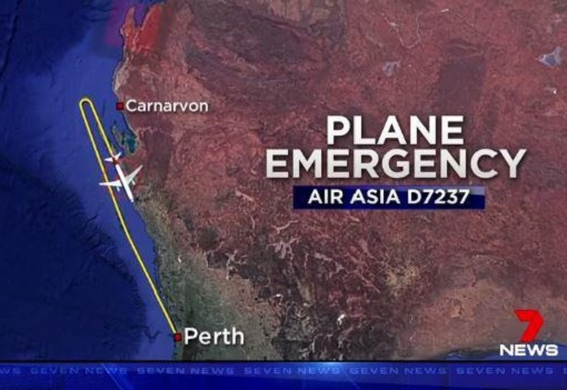 AirAsia X Flight D7237 Making A U-Turn Back to Perth