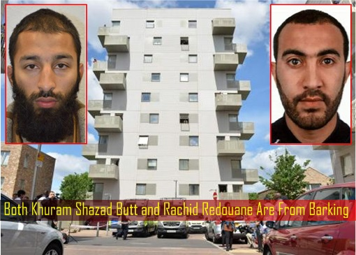 Both Khuram Shazad Butt and Rachid Redouane Are From Barking