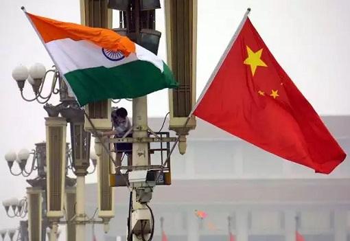 China VS India - Flags