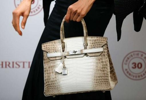 's Auction House - Carrying Hermès Birkin Himalaya Handbag