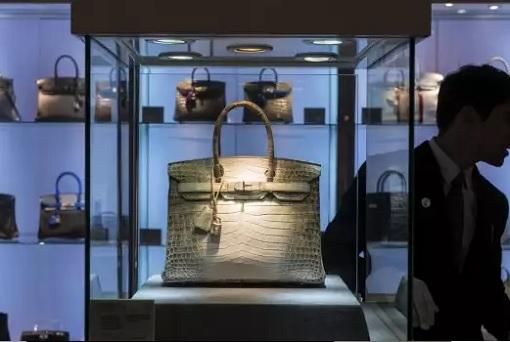 Hermès Birkin - Matte White Himalaya - Locked in Glass Case