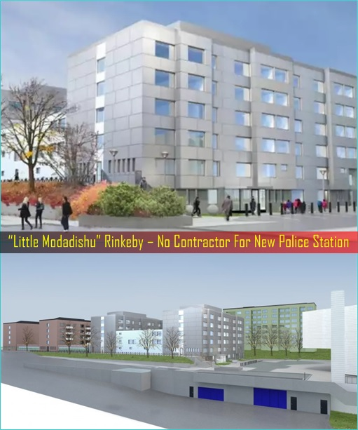 Little Modadishu Rinkeby – No Contractor For New Police Station