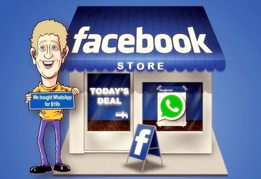 Mark Zuckerberg Facebook Bought WhatsApp For 19 Billion US Dollar