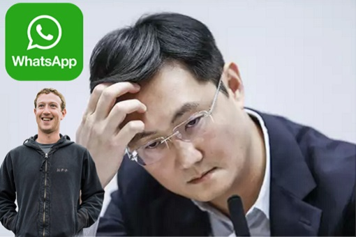 Mark Zuckerberg Stole WhatsApp From WeChat Boss Pony Ma Huateng