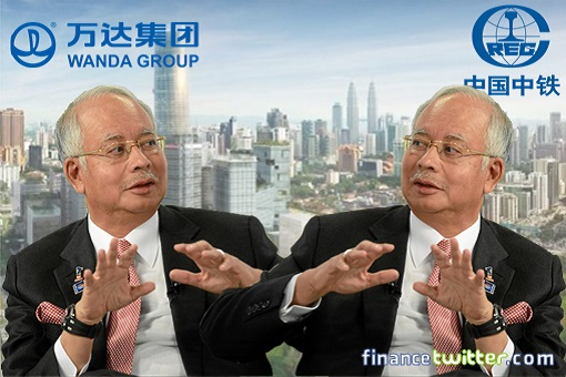 A Greedy Najib - From China To U.S. Fortune 500, Bailing Toxic Bandar Malaysia