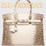 New World Record - Himalaya Hermès Birkin Handbag Sold For $377,000
