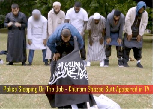 Police Sleeping On The Job - Khuram Shazad Butt Appeared in TV