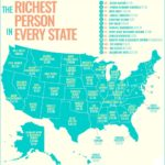 This Graphic Map Shows 2017 Richest Person In Every State Of America