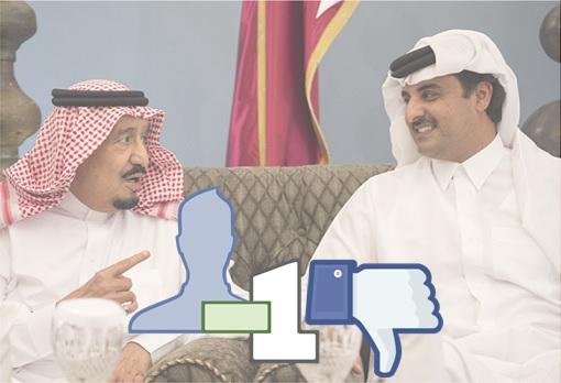 Saudi King Salman Unfriend Qatar Emir