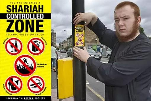 Sweden Shariah Controlled Zone - Sticker