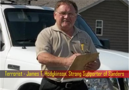 Terrorist - James T. Hodgkinson, Strong Supporter of Sanders