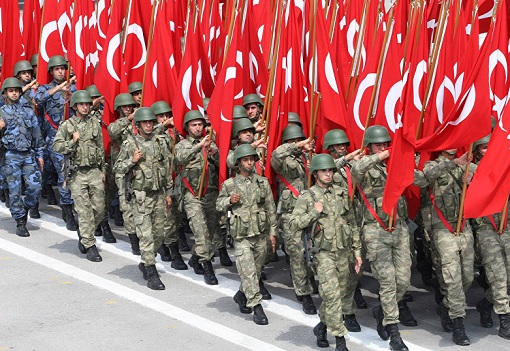 Turkey Military Troops