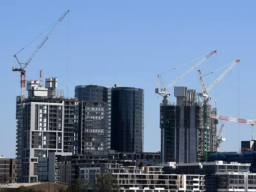 Australia Booming Property Market Real Estate - Cnstruction Sites