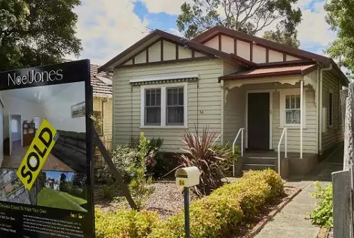 Australia Property Market - House Sold