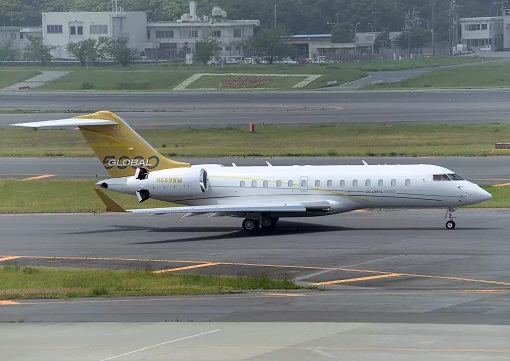 Bombardier Global 5000 Private Jet