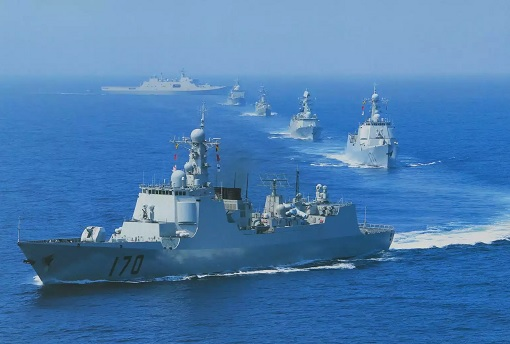 China Navy Dominating Indian Ocean