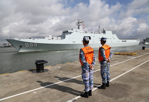 China's First Troops Deployment to Military Base in Djibouti