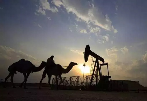 Crude Oil at Desert Crude Oil
