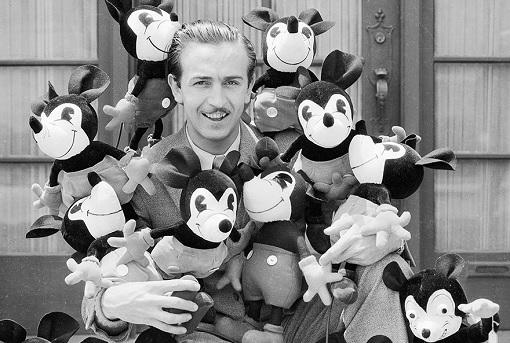 Disneyland - Walt Disney with Mice