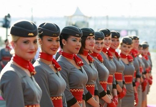 Etihad Airways Cabin Crews