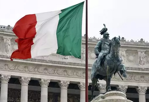 Italy Banks - Flag