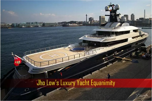 Jho Low's Luxury Yacht Equanimity | FinanceTwitter