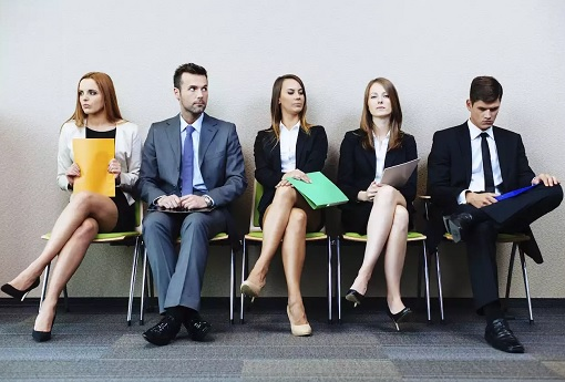 Job Interview - Candidates Waiting