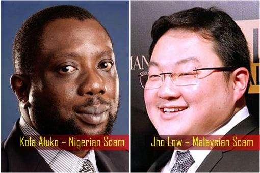 Kola Aluko – Nigerian Scam and Jho Low – Malaysian Scam