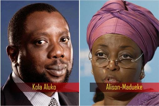 Kola Aluko and Alison-Madueke