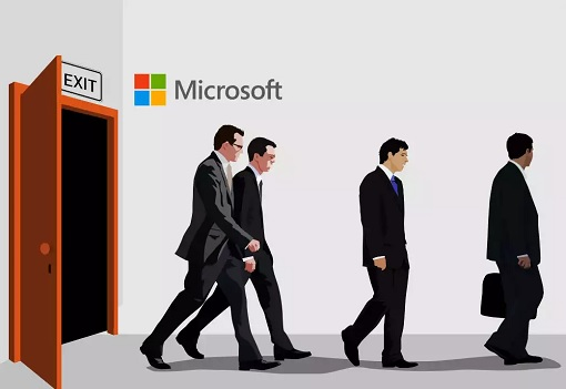 Microsoft Layoff Retrenchment - Graphic