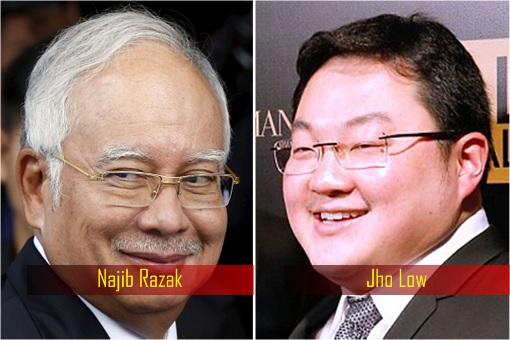 Najib Razak and Jho Low
