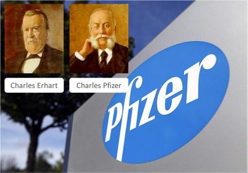 Pfizer - Charles Pfizer and Charles F. Erhart