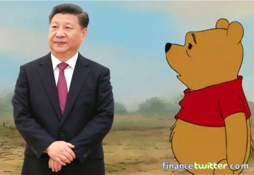 President Xi Jinping - Winnie the Pooh - A Bear Of Very Little Brain