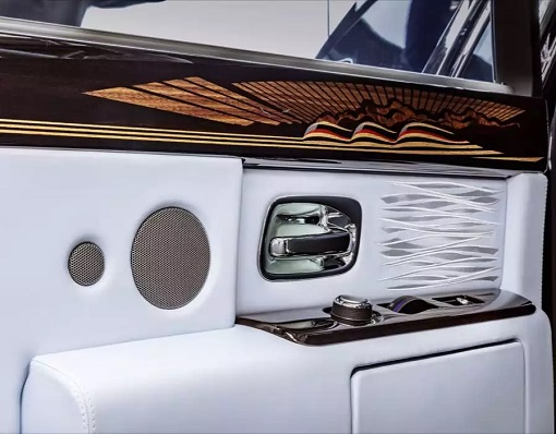 Rolls-Royce Phantom VIII - Armrest