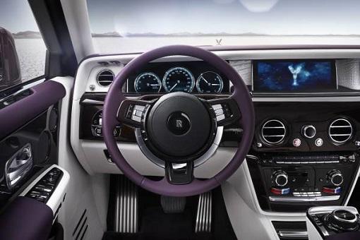Rolls-Royce Phantom VIII - Dashboard