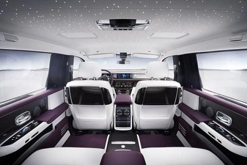 Rolls-Royce Phantom VIII - Interior Back Seat View