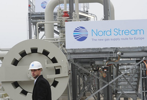 Russia-German Nord Stream 2 Gas Pipeline Project
