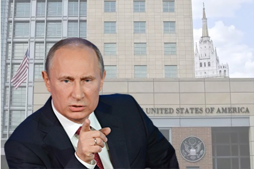Russian President Vladimir Putin Kicks Out US Diplomats In Moscow