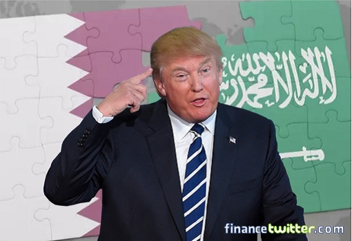 Saudi-Qatar Crisis Conflict - Donald Trump Played The Arabs
