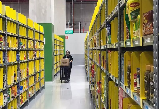 Singapore Amazon Prime Now Fulfilment Centre - Mapletree Logistics Hub in Toh Guan