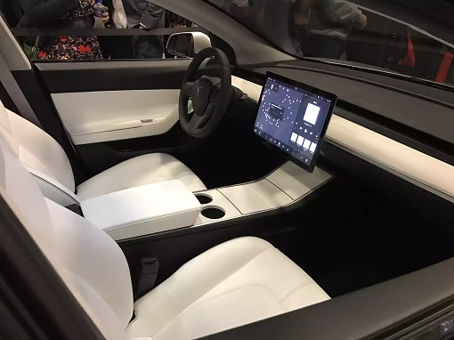 Tesla Model 3 - Interior 15-inch Touch-Screen Display