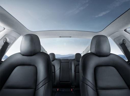 Tesla Model 3 - Interior Seatings