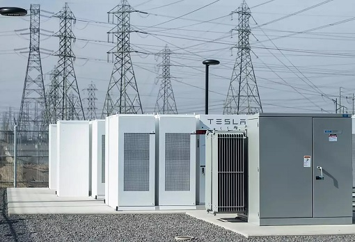 Tesla Powerpacks Battery