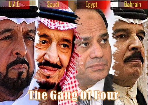 The Gang of Four - Middle East - UAE, Saudi, Egypt, Bahrain