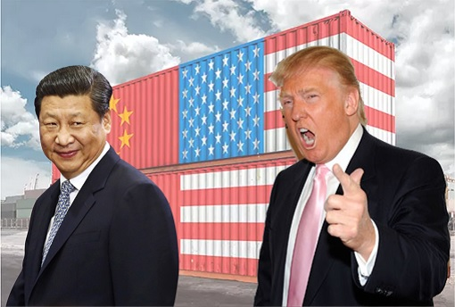 US-China Trade War - President Xi Jinping and President Donald Trump