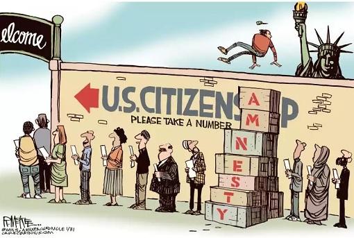 US Illegal Immigrants vs US Citizenship
