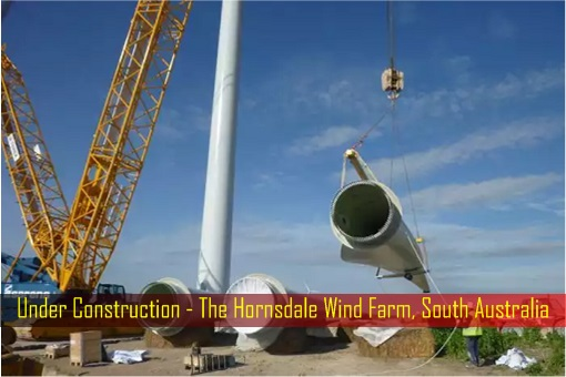 Under Construction - The Hornsdale Wind Farm, South Australia